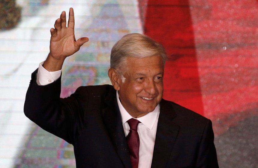 Le nouveau président mexicain propose de «réduire les migrations»