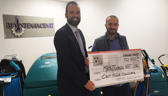 100 000$ pour une PME de LaSalle