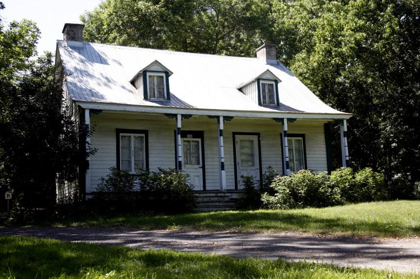 Une maison historique mal en point