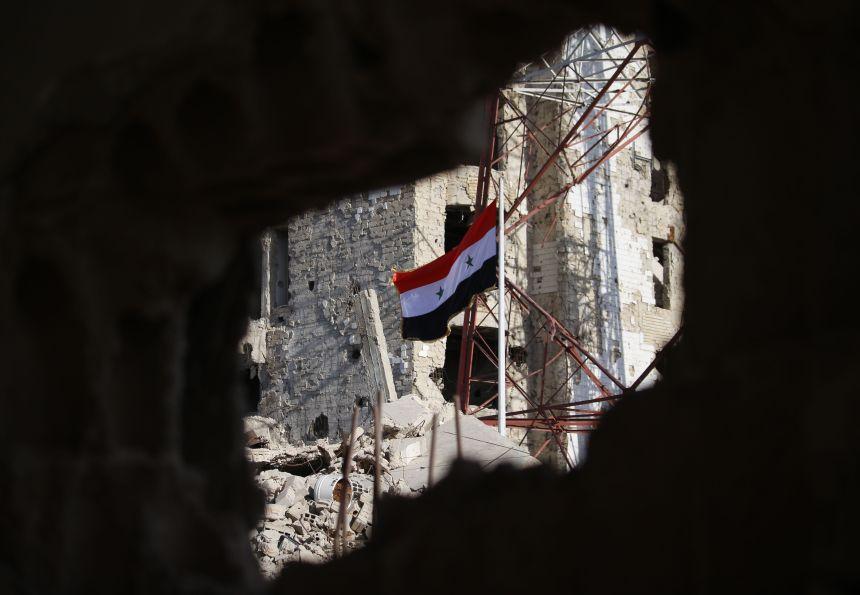 Le régime syrien reprend lecontrôle d'un fief rebelle