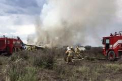 Écrasement d'avion au Mexique: des blessés, pas de mort