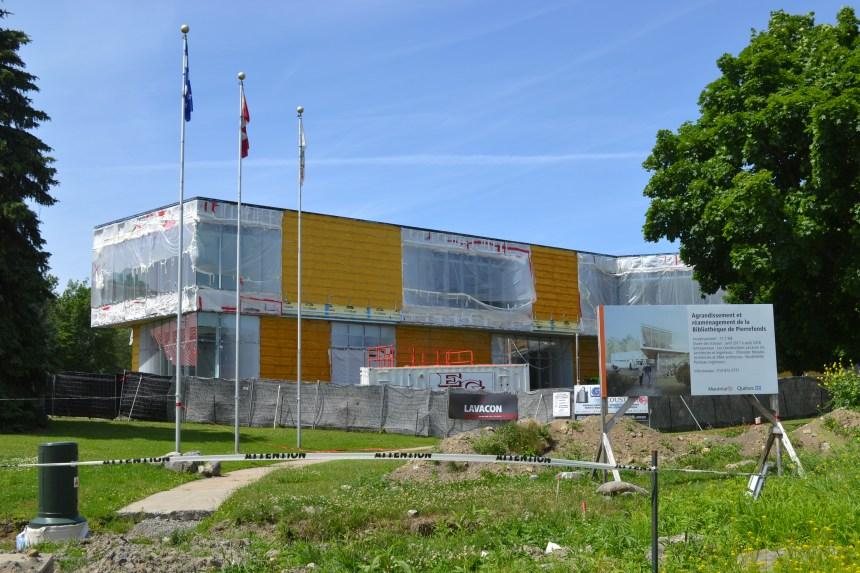 Une nouvelle bibliothèque en décembre