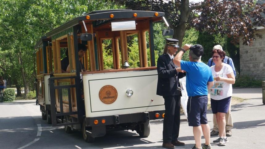 Le petit train du parc de la Visitation est de retour