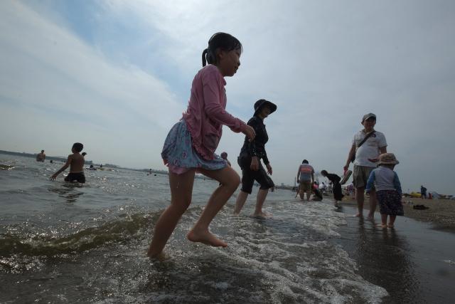Japon: réouverture de plages dévastées par la catastrophe de 2011