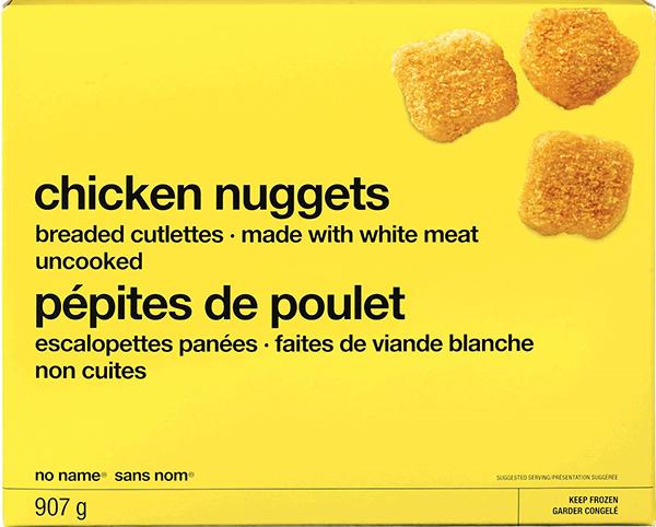 Salmonelle: Rappel de pépites de poulet Sans nom et de biscuits «Mini Ritz»