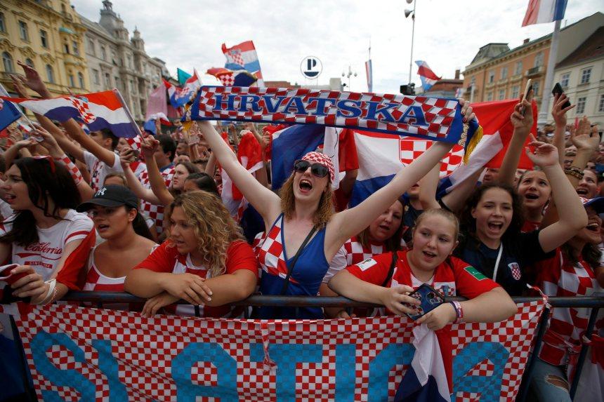 Coupe du monde: La Croatie réserve un accueil triomphal à ses héros
