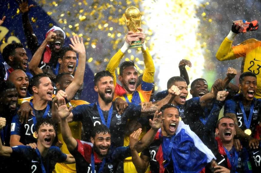 Coupe du monde: La réussite de la jeunesse française