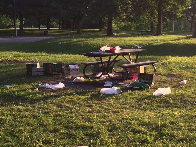 Parc Angrignon: la propreté remise en cause