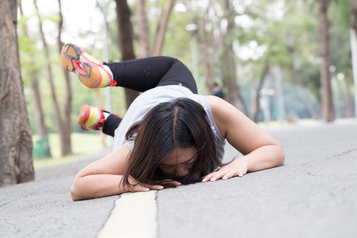 Les chutes, cause la plus courante de blessure