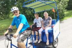 Vers un nouveau service de vélo-taxi pour les soins de santé des aînés
