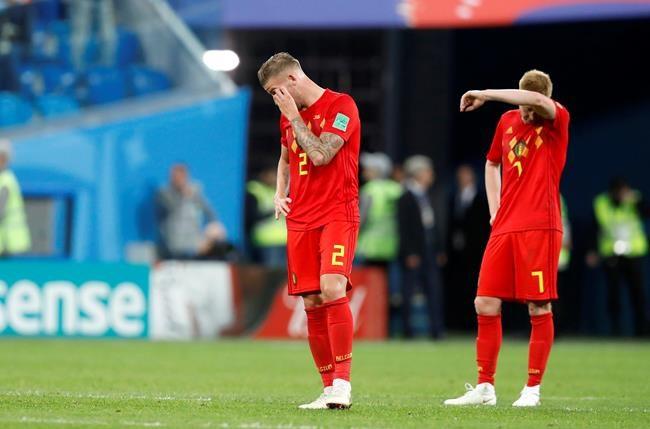 L'Angleterre et la Belgique en lutte pour finir 3e