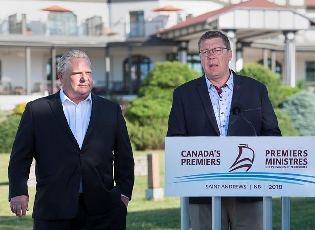 L'Ontario et la Saskatchewan s'unissent contre la tarification du carbone