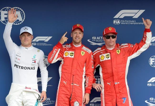 Vettel décroche la pole position à Hockenheim