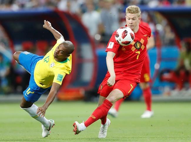 La Belgique défait le Brésil 2-1 à la CM