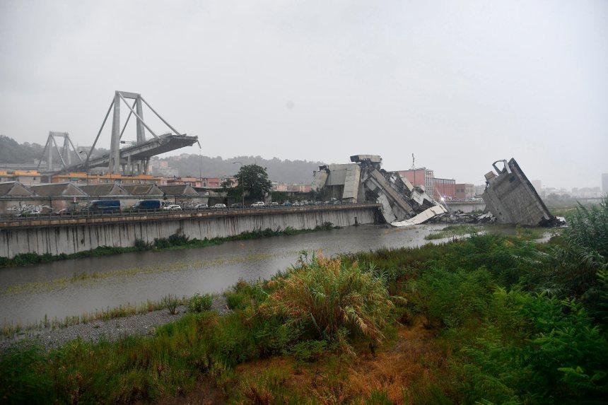 Pont effondré à Gênes: le bilan monte à 40 morts confirmés et trois probables