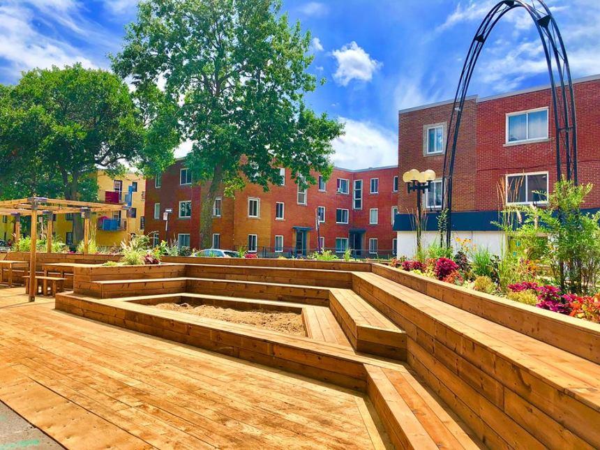 Deux nouveaux espaces publics sur Masson