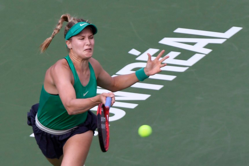Bouchard s'incline dans un match en dents de scie