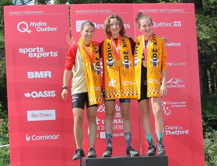 Trois Rosemontois se démarquent aux Jeux du Québec