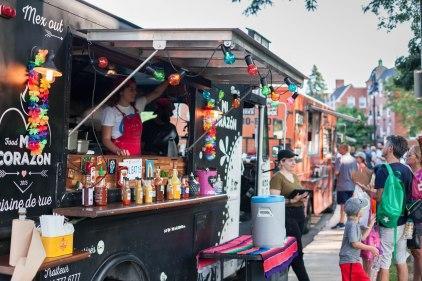 Les «food trucks» seulement présents pendant des événements à Montréal cet été