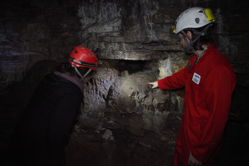 Une saison record pour la caverne de Saint-Léonard