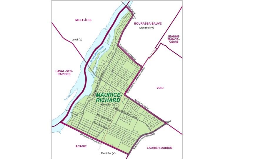 Maurice-Richard: un nouveau nom pour une ancienne circonscription