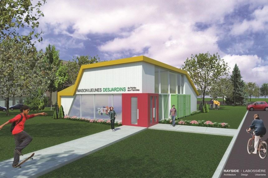 La nouvelle Maison des Jeunes de Pointe-aux-Trembles ouvrira en octobre