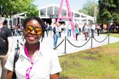 Adeola Odusanya, la fondatrice de la première start-up de cannatech de Montréal