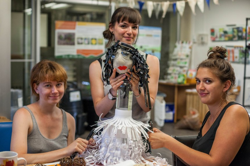 Le recyclage au cœur du festival des marionnettes de Verdun
