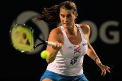 Fed Cup: Marino s'incline en deux manches contre Muchova en lever de rideau