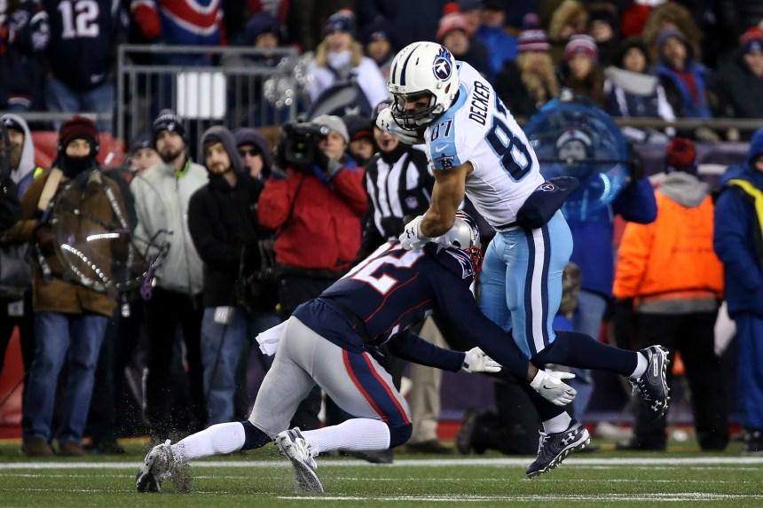 NFL: le receveur Eric Decker prend sa retraite