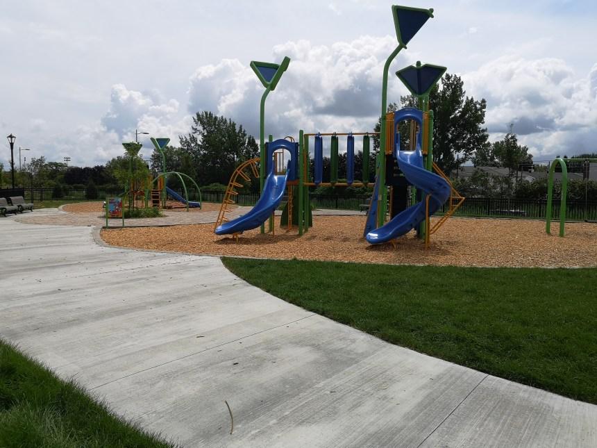 Le parc Pominville ouvert