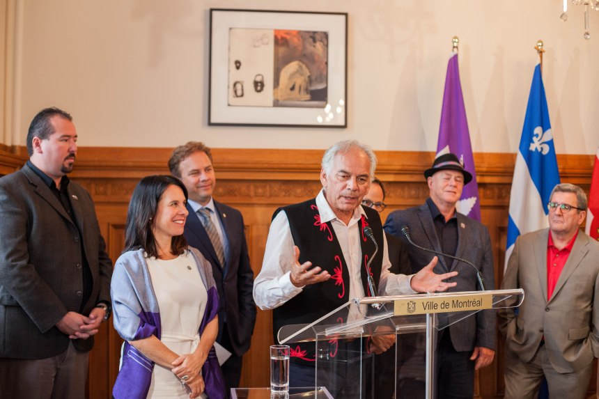 Le Chef Ghislain Picard encourage l'employabilité des Autochtones