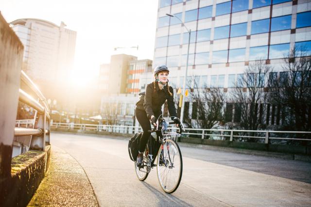 Une étude montre que le vélo est la forme de transport la plus saine en ville
