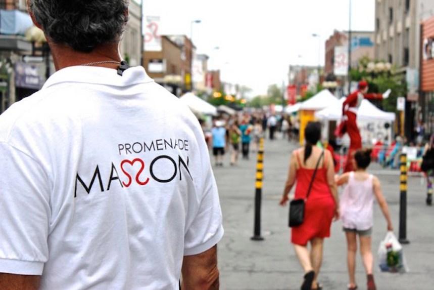 La Promenade Masson festive en août