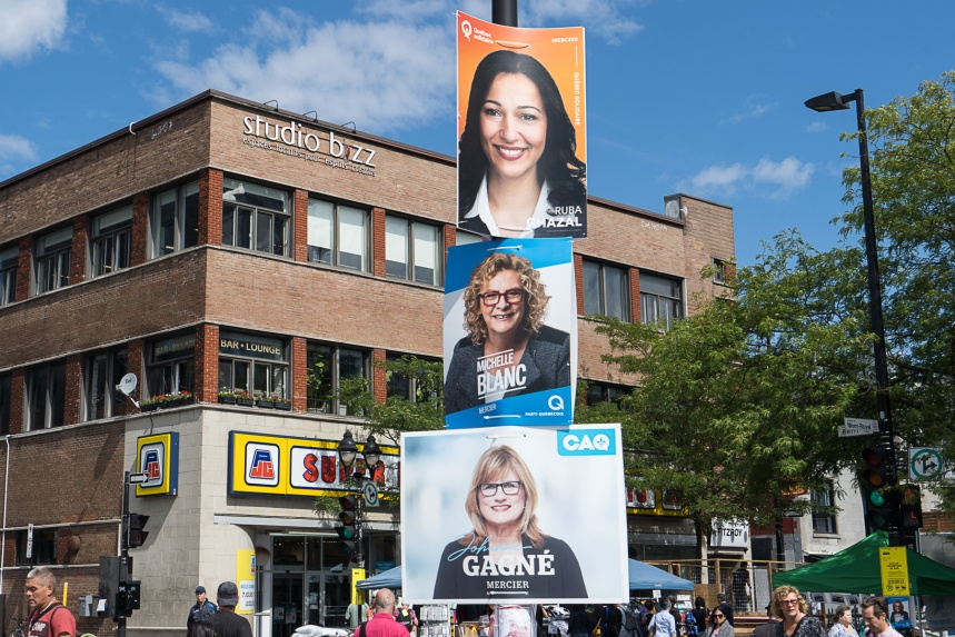 Les affiches électorales devront disparaître d'ici mercredi