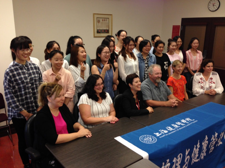 Chinese students spend summer at Vanier College