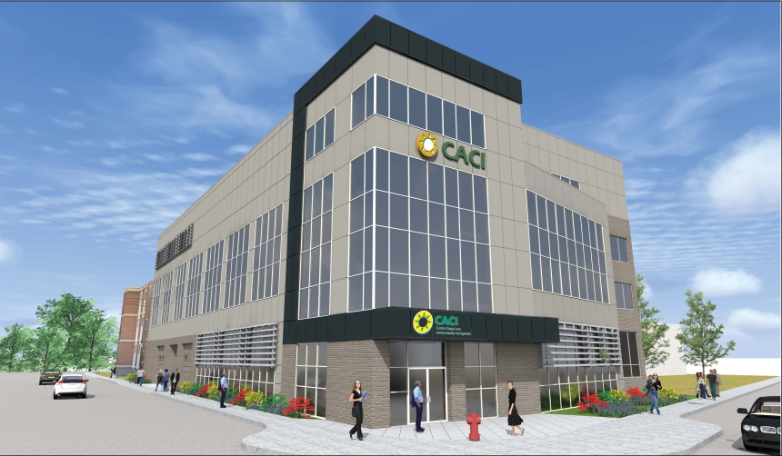 Un bâtiment tout neuf pour le CACI
