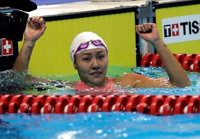 Liu améliore le record du 50 m dos
