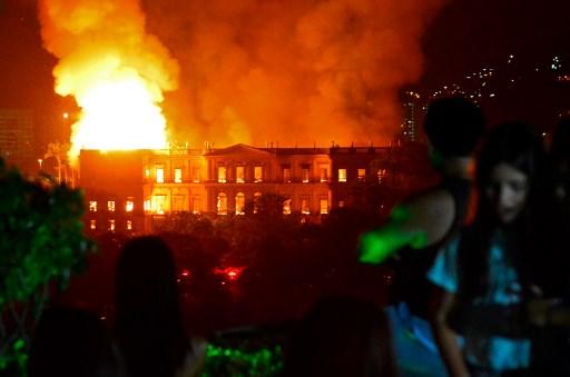 Incendie du Musée de Rio: une «perte pour l'humanité»