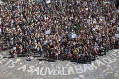Des jeunes veulent encercler l'Assemblée nationale lundi, Jour de la Terre