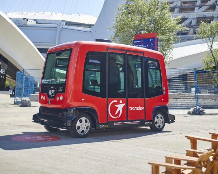 Pas de véhicules autonomes sur rue avant le printemps à Montréal