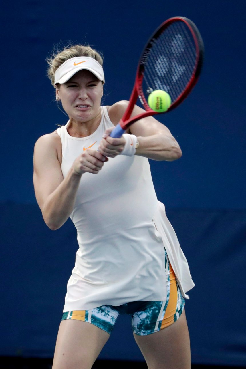 Eugenie Bouchard s'incline à son premier match au Japon