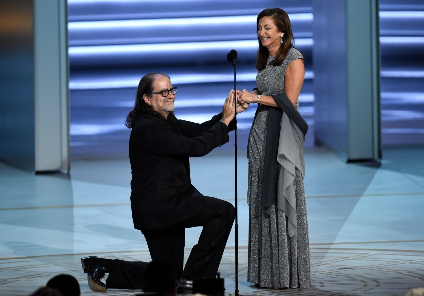 Une demande en mariage sur la scène des Emmy