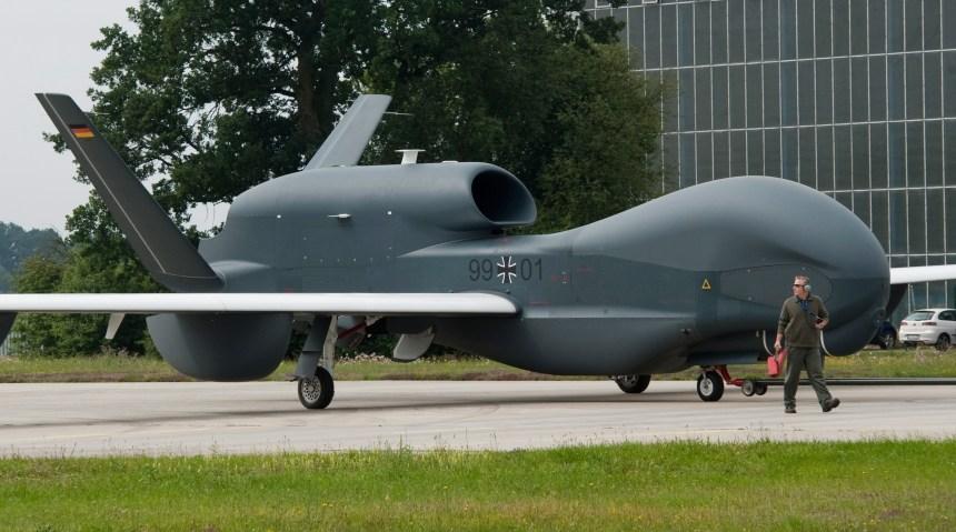 Le Canada intéressé par un drone qui ne vole pas