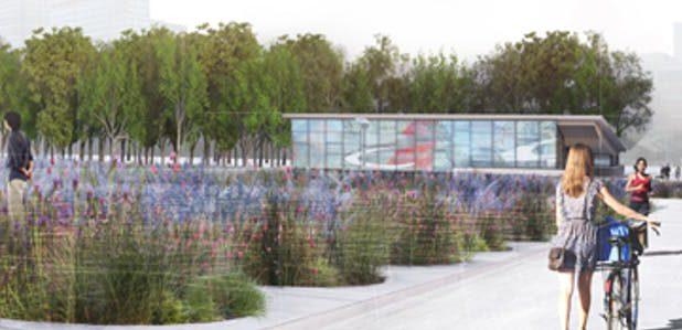 Un grand plan incliné pour relier le Champ-de-Mars et le métro