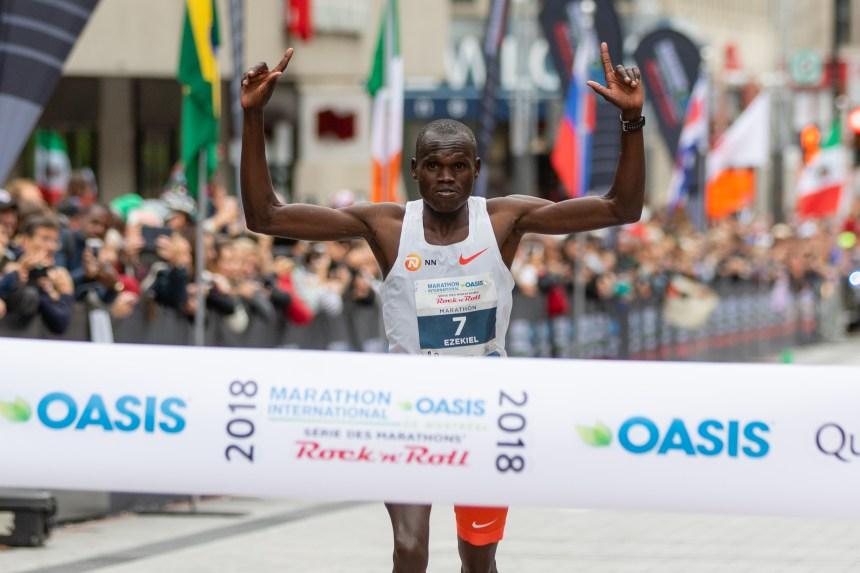 Mutai et Nyirarukundo gagnent le marathon