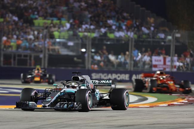 Une autre victoire pour Lewis Hamilton
