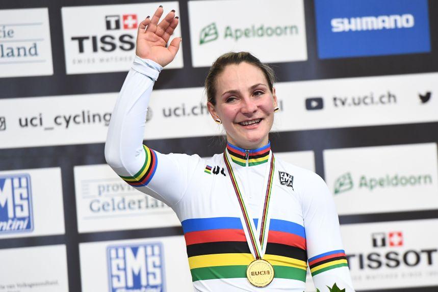 La cycliste allemande Kristina Vogel est paralysée