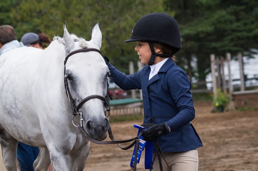 Une Monteroise aux Jeux équestres