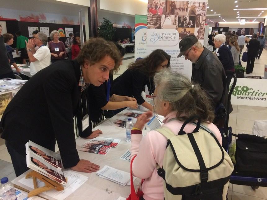 Salon de l'engagement citoyen: les défis de recruter des bénévoles